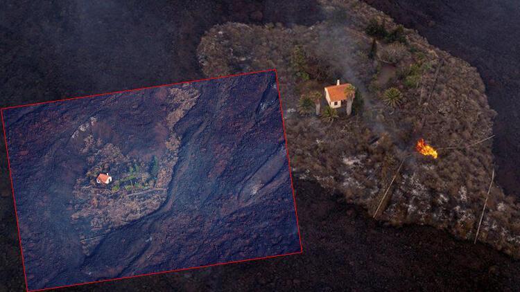 Etrafındaki her şey yok oldu... Dünya Kanarya Adalarındaki mucize evi konuşuyor