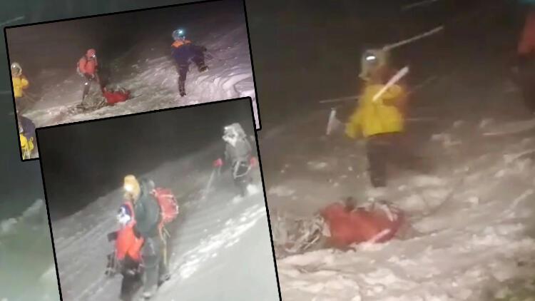 Çok acı görüntüler... Rusyanın Elbruz Dağında 5 dağcı öldü