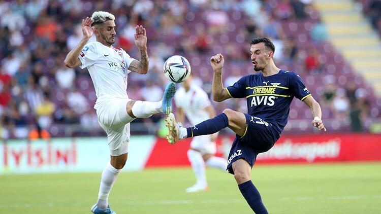Atakaş Hatayspor 1-2 Fenerbahçe (Maçın özeti ve golleri)