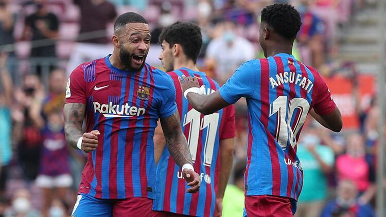 Barcelona, Levanteyi üç golle geçti