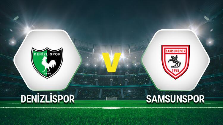 Denizlispor Samsunspor maçı saat kaçta, hangi kanaldan canlı yayınlanacak