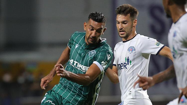 Son Dakika: Kasımpaşa 2-2 Konyaspor / Maç sonucu ve özeti
