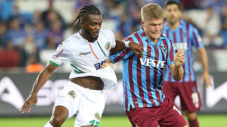 Son Dakika: Trabzonspor 1-1 Alanyaspor / Maçın özeti ve golleri