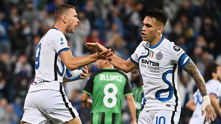 Inter, Sassuolo karşısında geriden gelerek kazandı