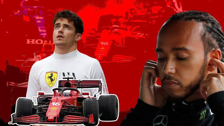 Son Dakika Haberi... Formula 1 Türkiye GPye damga vuran pit stop kararları Charles Leclerc ve Lewis Hamilton...