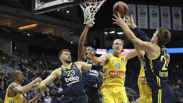Fenerbahçe Beko, ALBA Berline farklı kaybetti