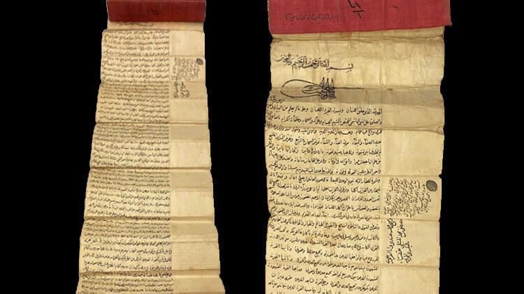 Fatih Sultan Mehmet Hanın tuğrası bulunan vakfiye Londrada satışa çıkarılacak Türkiye harekete geçti, Interpole başvurdu
