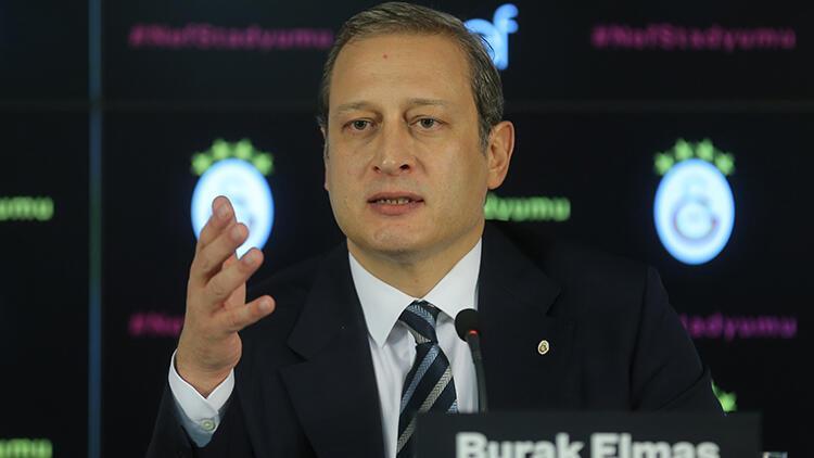 Hürriyet: Galatasaray Başkanı Burak Elmastan Morutan tepkisi: Gereğini yapın