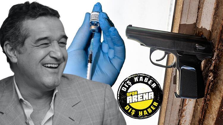 Son Dakika: Gigi Becaliden skandal aşı yasağı Silahla vurulmayı tercih ederim