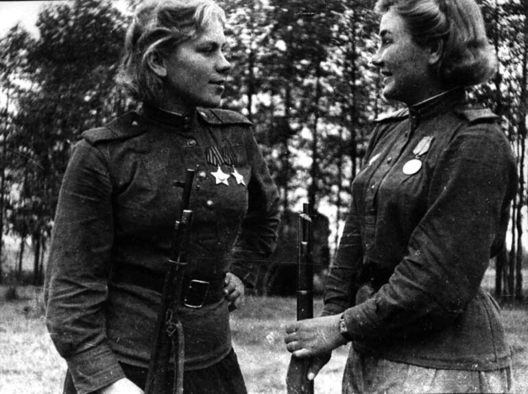Roza Shanina - 59 Kişiyi Öldüren Sovyet Ölüm Meleği