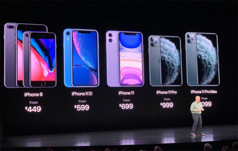 iPhone 11 ve iPhone 11 Pro tanıtıldı İşte fiyatı ve özellikleri...