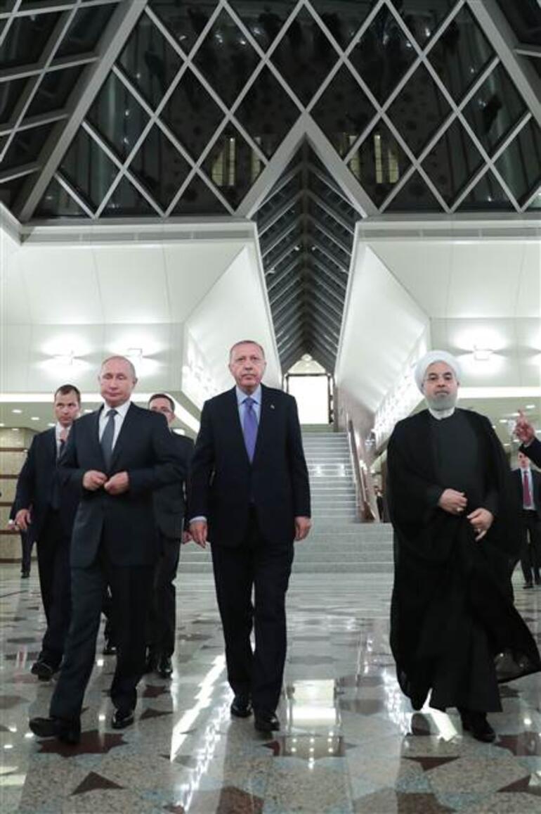 Son dakika... Ankaradaki üçlü zirve sona erdi... Önemli açıklamalar
