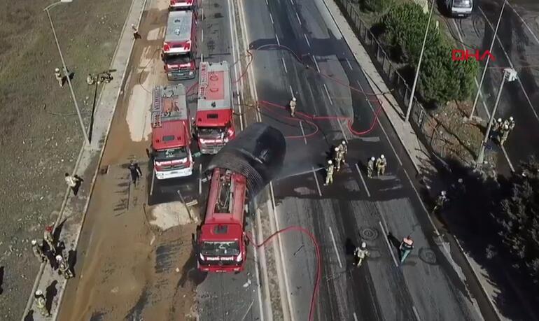 Son dakika... Tuzla'da yanan fabrikada patlama: Yaralılar var