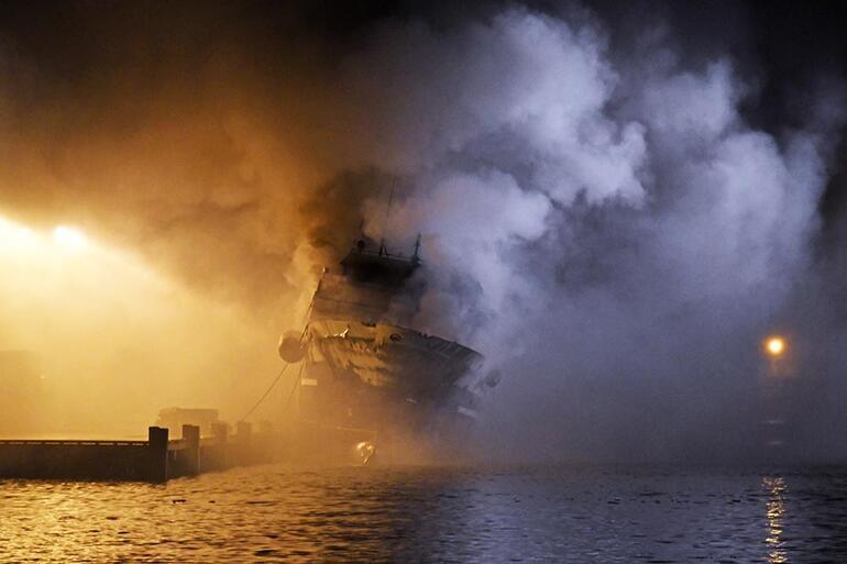 Norveç'te korku dolu anlar Yakıt takından 200 bin litre...