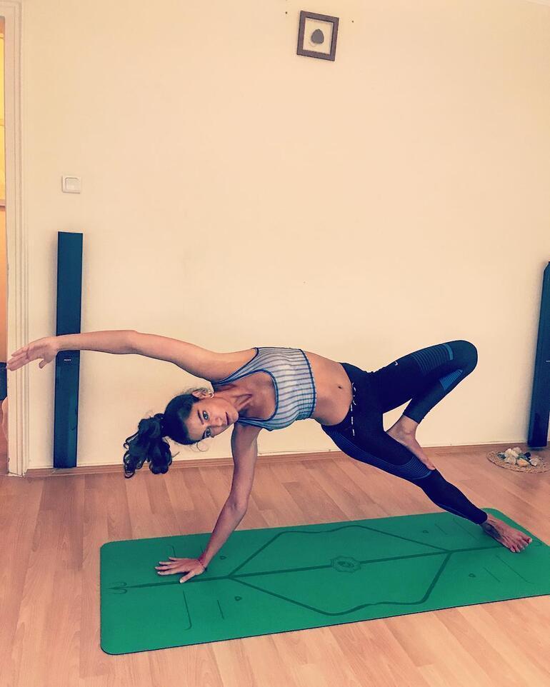 Yoga eğitmeni oldu