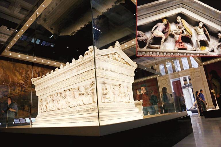 Arkeoloji müzesi çelik zırhla açıldı