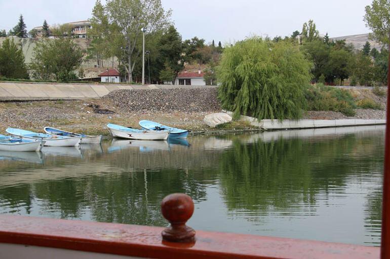 Ankaranın saklı gölü havadan görüntülendi