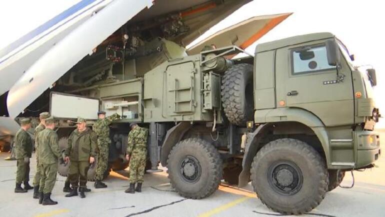 Ruslardan S-400 paylaşımı... İlk defa yapılacak