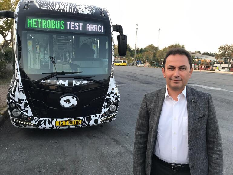 Yeni metrobüsler test ediliyor