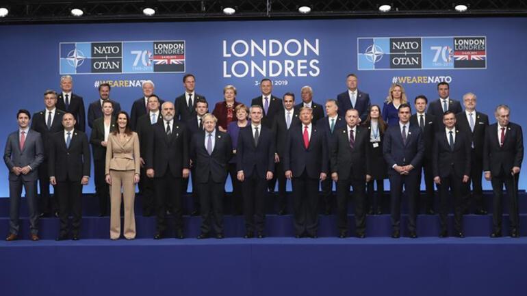 Son dakika... Londrada NATO Liderler Zirvesi başladı