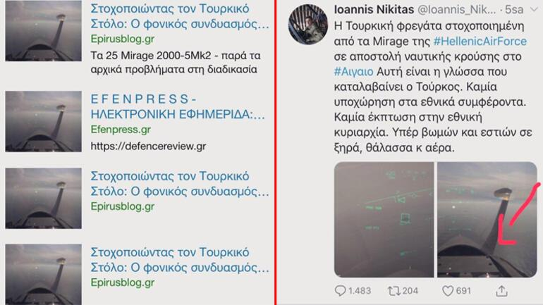 Son dakika haberi… 'Yunan pilot Türk savaş gemisine kilitlendi' iddiası yalan çıktı