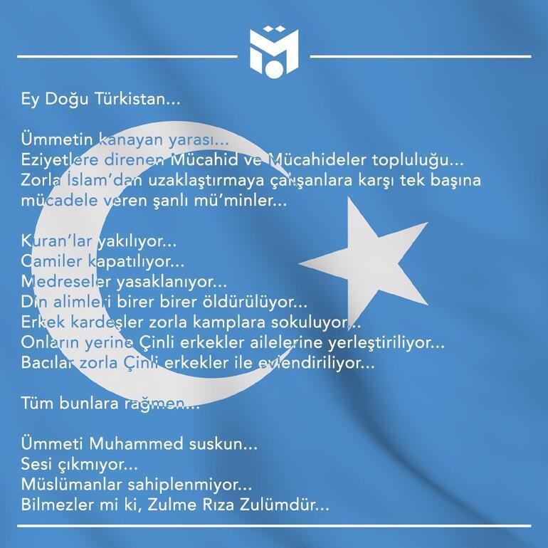 Mesut Özilden Doğu Türkistan açıklaması