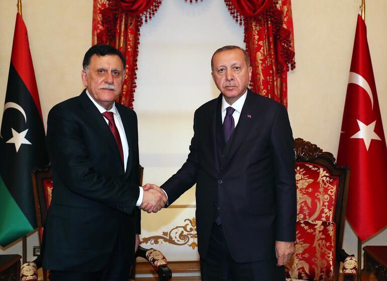 Son dakika haberleri: Dolmabahçe'de Libya ile kritik görüşme