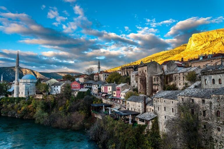 Tarihi ve güzelliğiyle büyüleyen kent Mostar