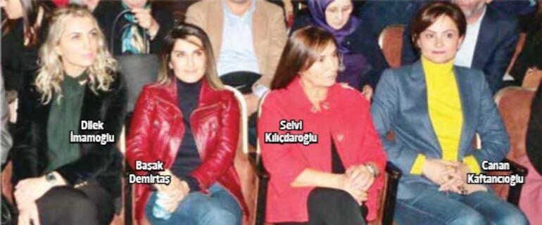 Dilek, Selvi ve Canan hanımların Demirtaş'la dayanışma fotoğrafına dair