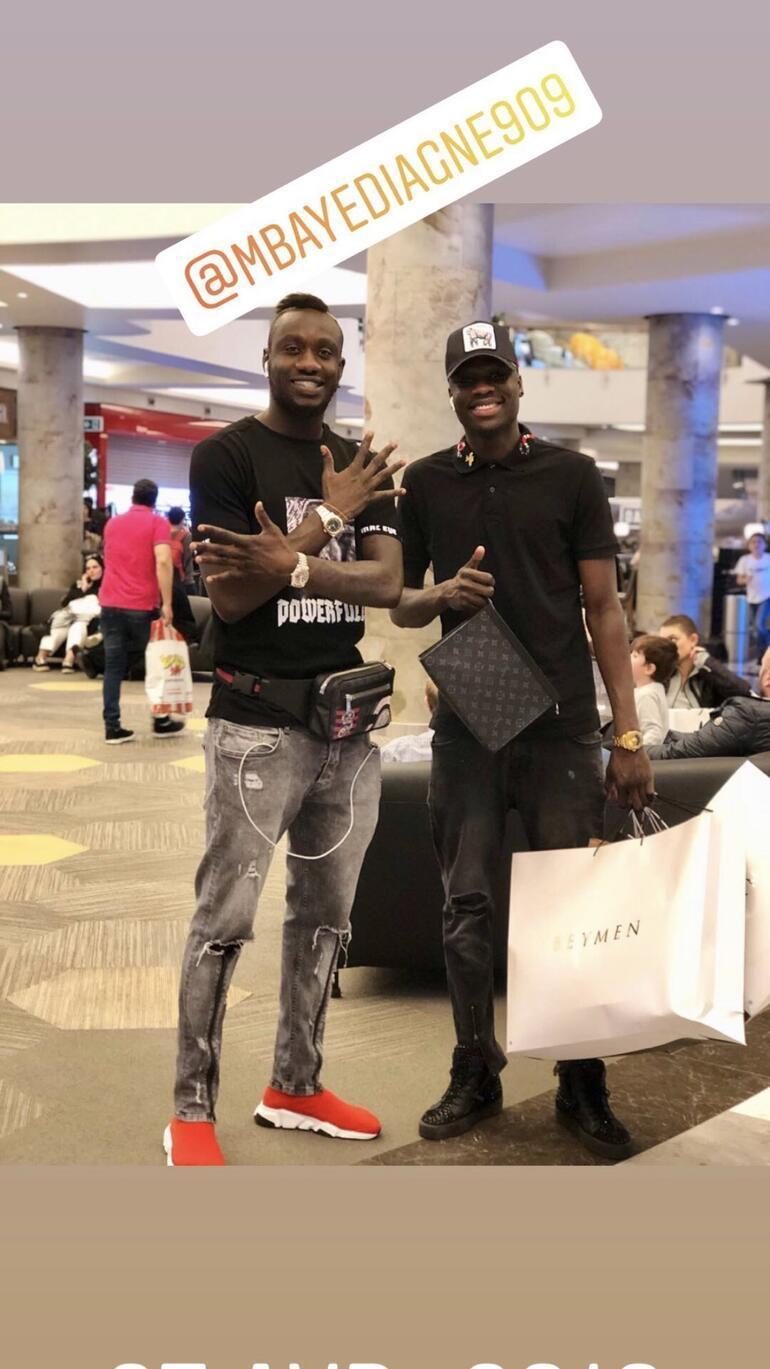 Mbaye Diagne, İstanbula döndü | Transfer Haberleri