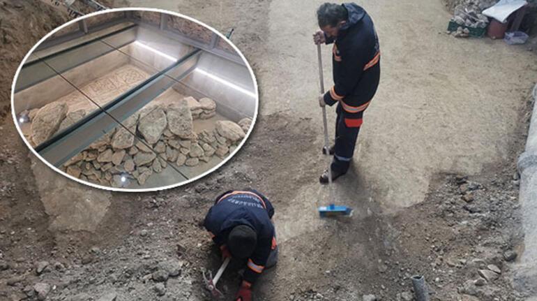 İstanbulda belediye binasının altında bulundu