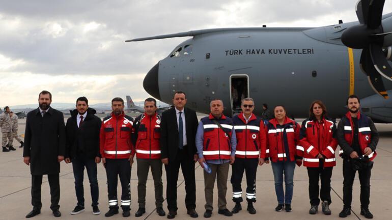 Son dakika haber: Çindeki Türk vatandaşlarını getirecek uçak Ankaradan havalandı