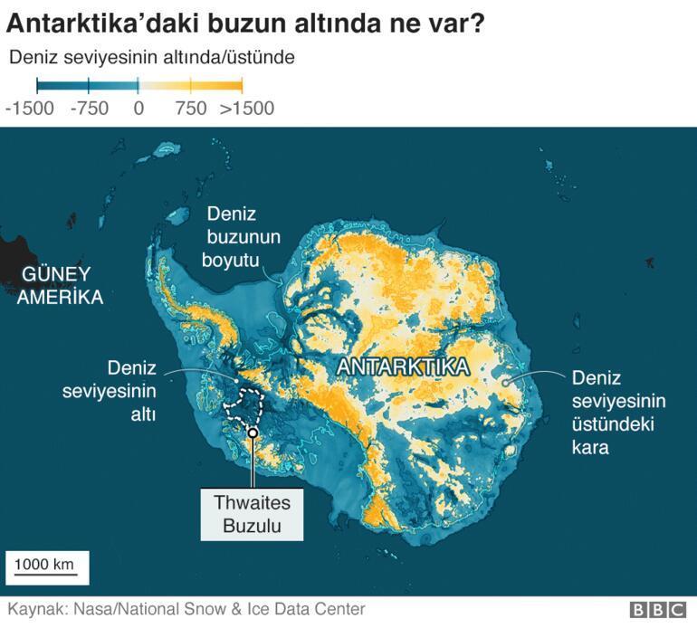 Antarktika'daki Kıyamet Günü buzulu neden hızla eriyor