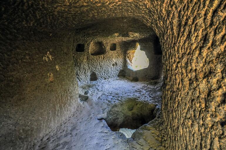 Kapadokya'nın görkemli yapısı Aziz Nikola Manastırı