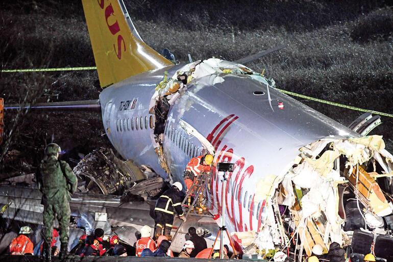Son dakika haberler: Sabiha Gökçendeki uçak kazasından kahreden detaylar