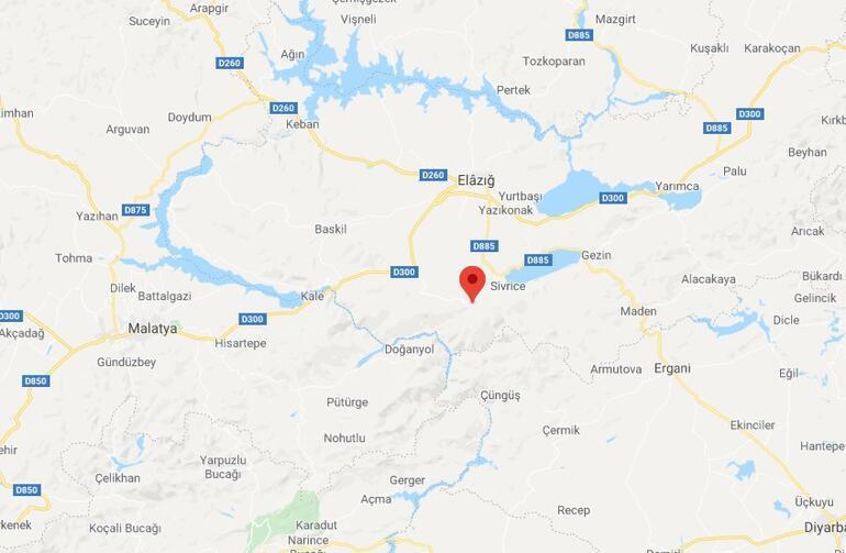 Son dakika haberi: Elazığda 4 büyüklüğünde deprem