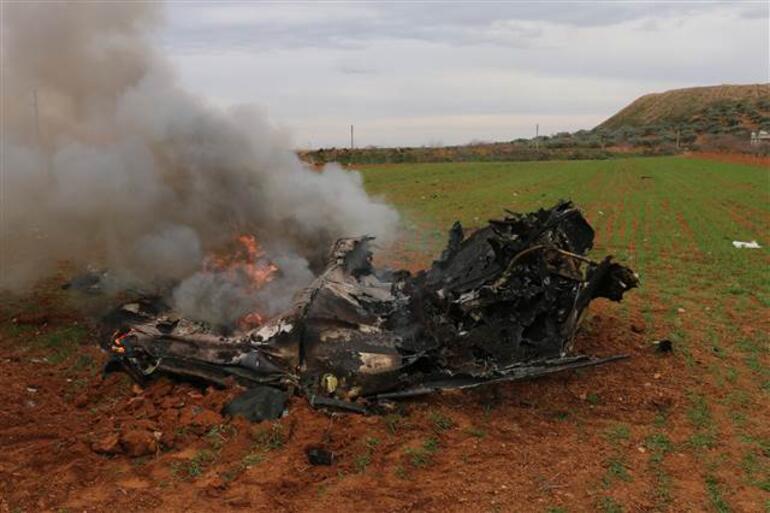 suriye vurulan helikopter ile ilgili görsel sonucu
