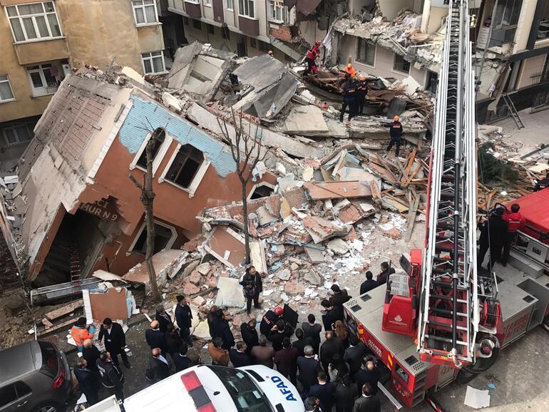 Son dakika haberler: İstanbul Bahçelievlerde 7 katlı bina çöktü Kolon demirleri çalındı iddiası...