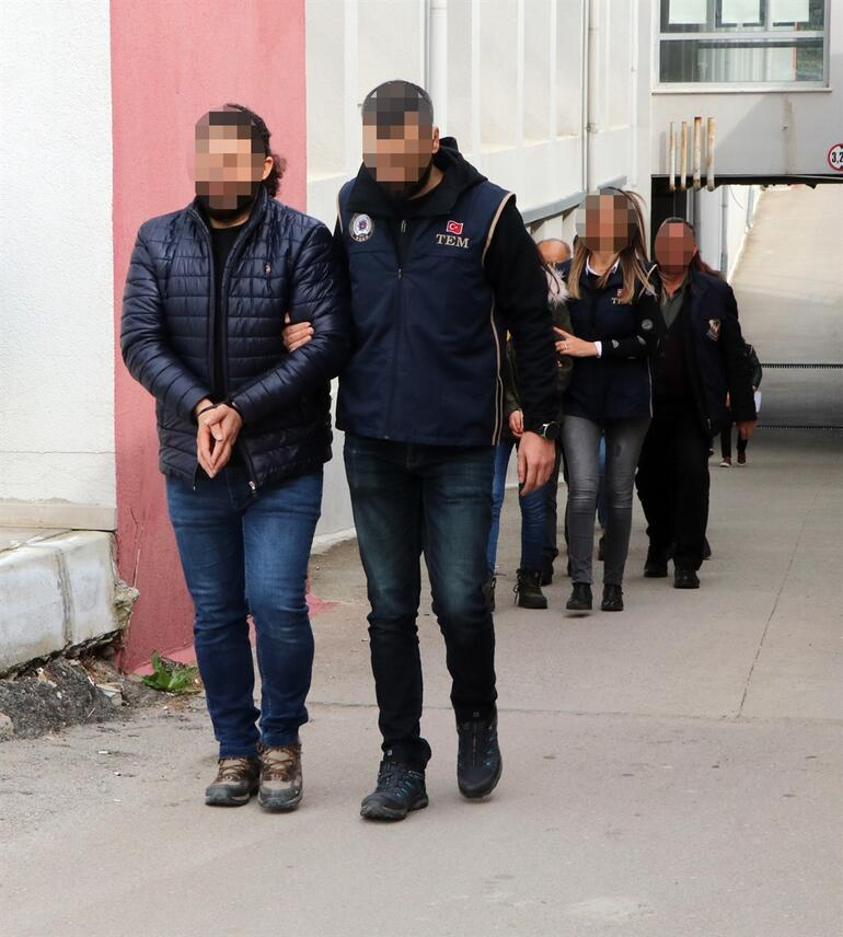 They were caught with 4 months of follow-up alleged that they deceived the children and sent them to the terrorist organization PKK