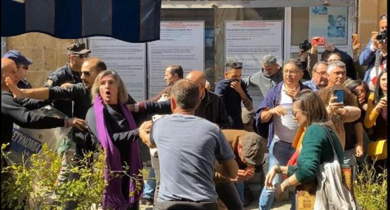 Rumların kapıları kapatma kararı Lefkoşada protesto edildi
