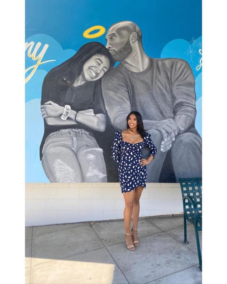 Kobe Bryantın kızından tepki çeken fotoğraf
