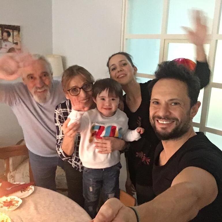 Özgün oğlu Edizin doğum gününü kutladı: Gülen yüzün solmasın bir tanem