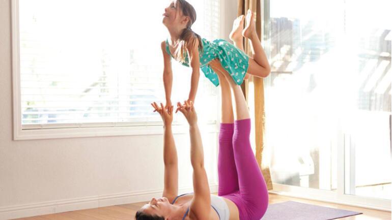 Yoga dersleri evinize geliyor