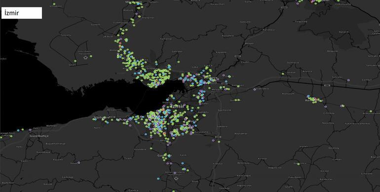 Breaking News: Here's attention on the map of Turkey's provinces corona corona virus cases Istanbul details
