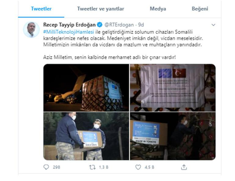 Son dakika haberler: Cumhurbaşkanı Erdoğan: Medeniyet imkan değil, vicdan meselesidir