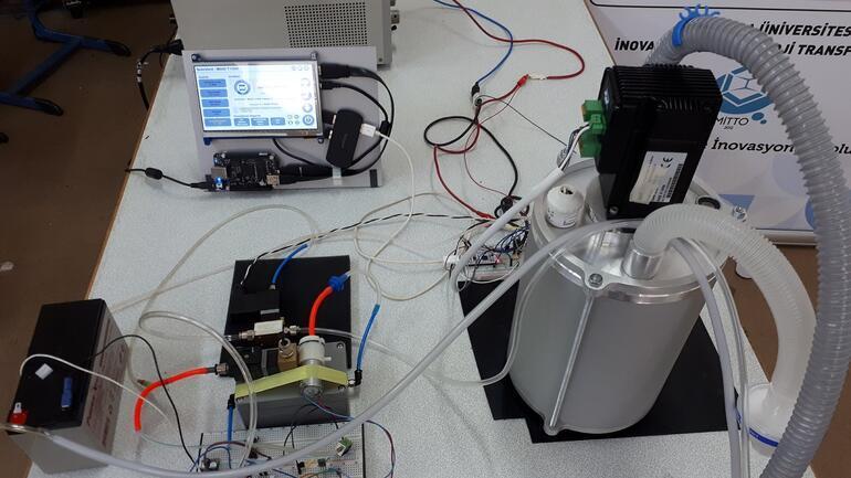 Marmara Üniversitesi 'taşınabilir solunum cihazı' geliştirdi