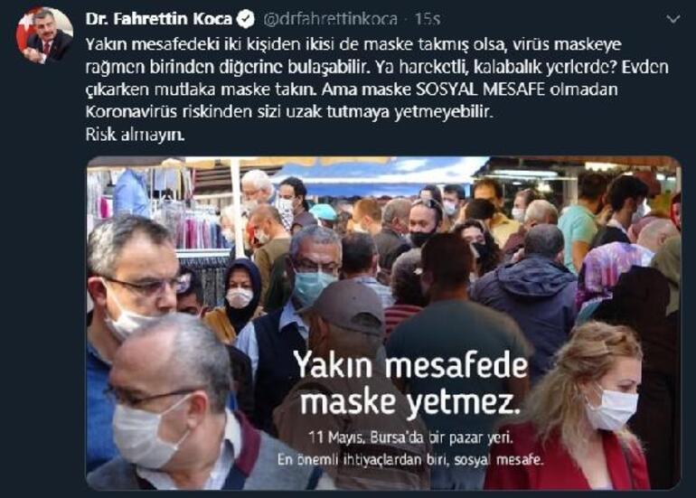 Bakan Koca Bursa fotoğrafıyla uyarmıştı Yine aynı manzara...
