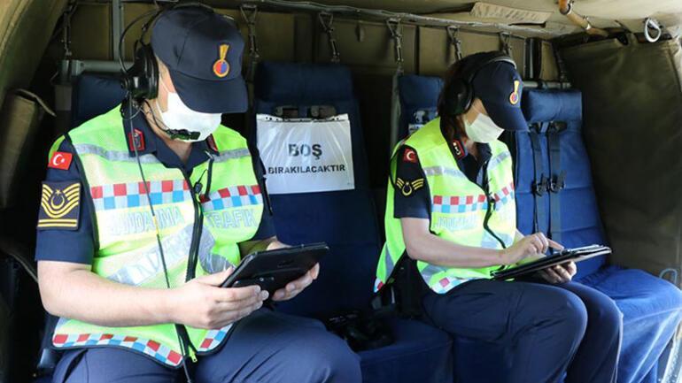İstanbul İl Jandarma Komutanlığı sokağa çıkma yasağında denetimlerini sürdürüyor