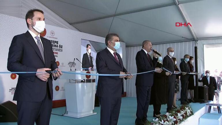 Son dakika haberler... Cumhurbaşkanı Erdoğan: Dünya çapında başarıdır
