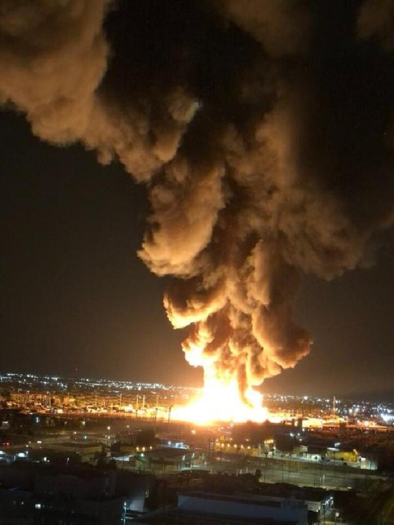 Son dakika haberler... ABDde büyük yangın